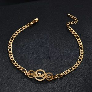 Jewelry - STAINLESS STEEL ♡ Love Bracelet